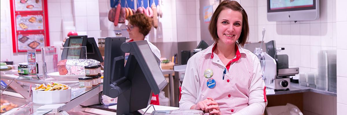 Geprüfte Verkaufsleiterin im Lebensmittelhandwerk